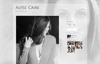 Alyse Caire | Fashion Model Website