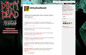 Dirty Dead Twitter Profile
