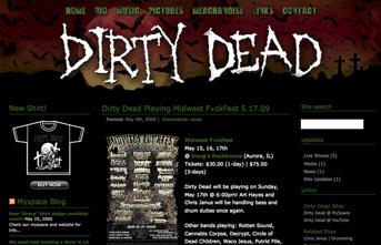 Dirty Dead | Band Site