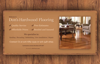 Don's Hardwood Flooring