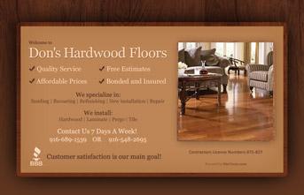 Don's Hardwood Flooring