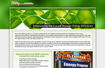 Energy Efficiency Company Design Concept