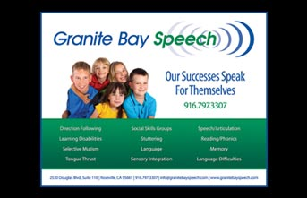 Granite Bay Speech Play Bill Ad