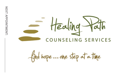 Counseling Business Cards Counseling Logo Garrett