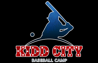 Kidd City Baseball Camp Logo